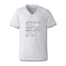 SURF V-NECK Mens Tee SSL-314(V) White