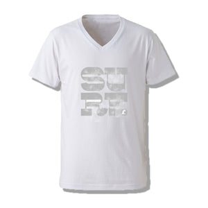 SURF V-NECK Mens Tee SSL-314(V)