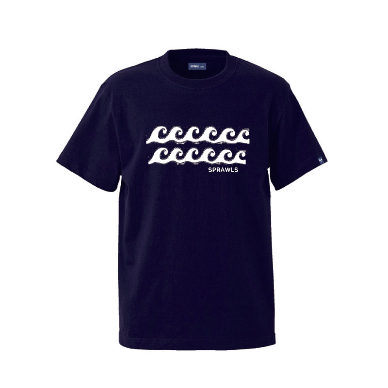 Wave Tee SSL-320(S) Navy