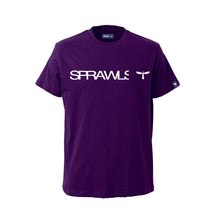 Sprawls 定番ロゴ Tee SSL-322(S) Purple