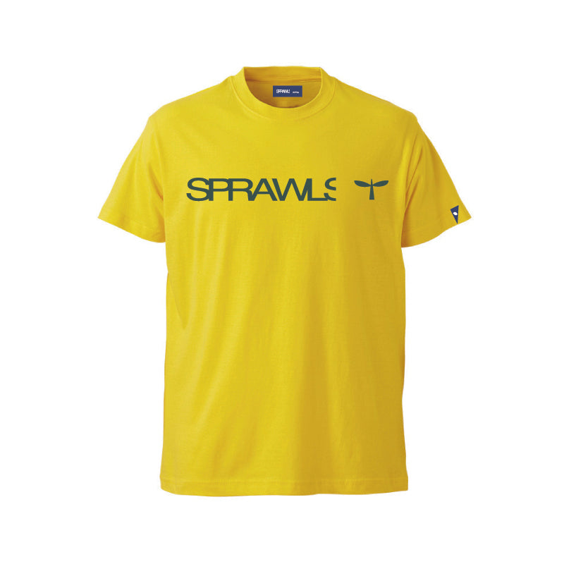 Sprawls 定番ロゴ Tee SSL-322(S) Yellow