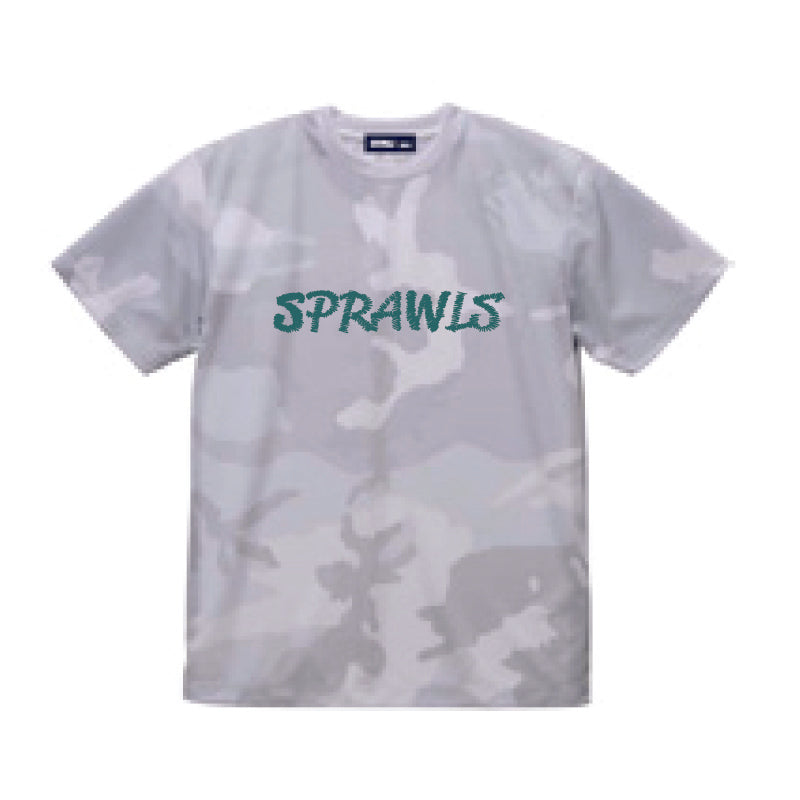 SSL-369 Dry Fit Camo Logo Tee 4.1oz