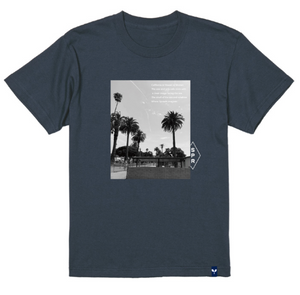 Surf Picture Print Tee SSL-435