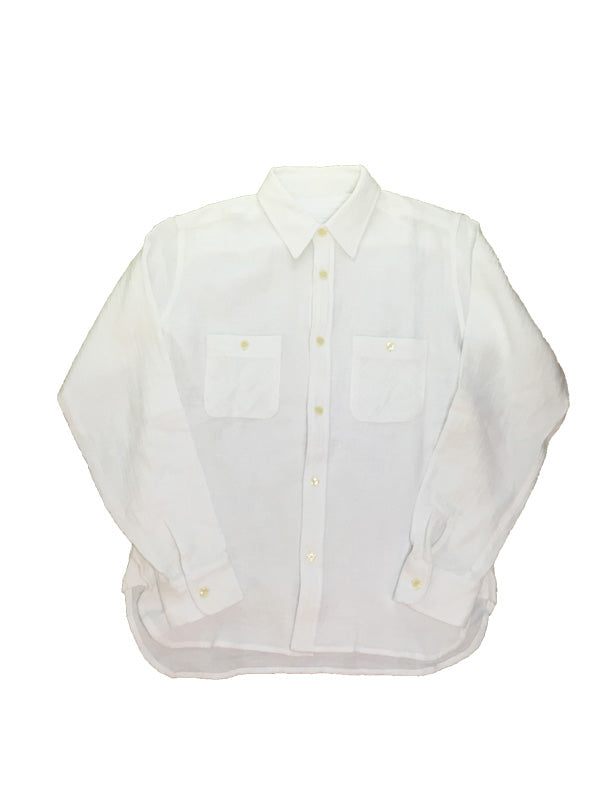 Cotton Double Gauze Shirts STD-024 Off-White