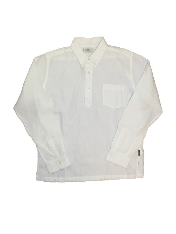Hemp PullOver B/D Shirts STD-26 Off-White