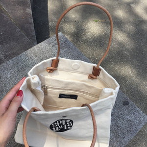 STL-005  Apple Logo  Canvas Bag Mini