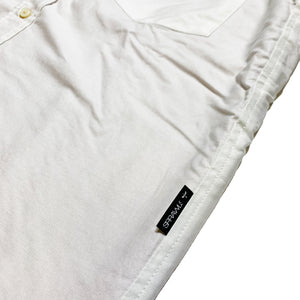 Oxford B/D Shirts(Inner Fleece) STD-032 White