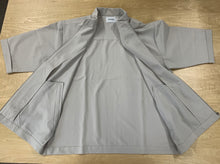 Stretch TR wide sleeve zip blouson SSL-394