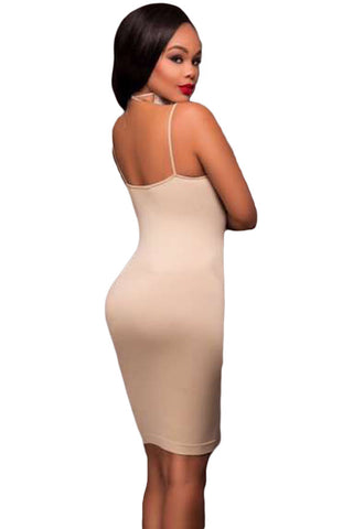 Apricot Seamless Body Con Dress Laveliq Clearance