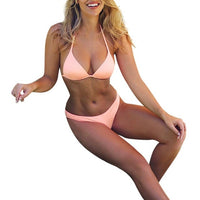 Fabulous Bikini Set Female Strapless Swimwear