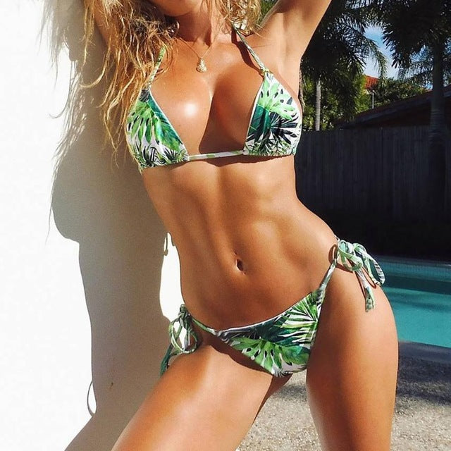 Fantastic Women Bikini Set Swimwear Push-Up Padded