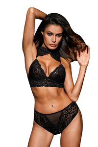 Love Affair Bralette Set in Black Lingerie LAVELIQ - Laveliqus