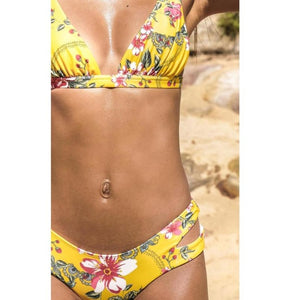 NEW Flower Print Sexy Bikinis Set Women Tankini