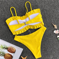 Women Beachwear Push-Up Padded Bra Beach Bikini