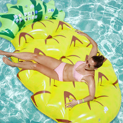 Big Pinneapple inflatable pool floatie LAVELIQ - Laveliqus