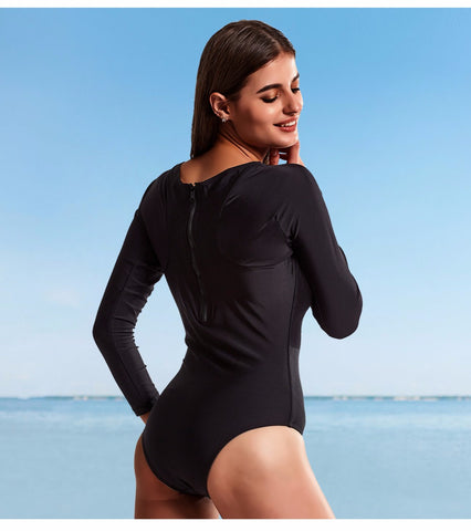 One Piece Long Sleeve Swimsuit LAVELIQ