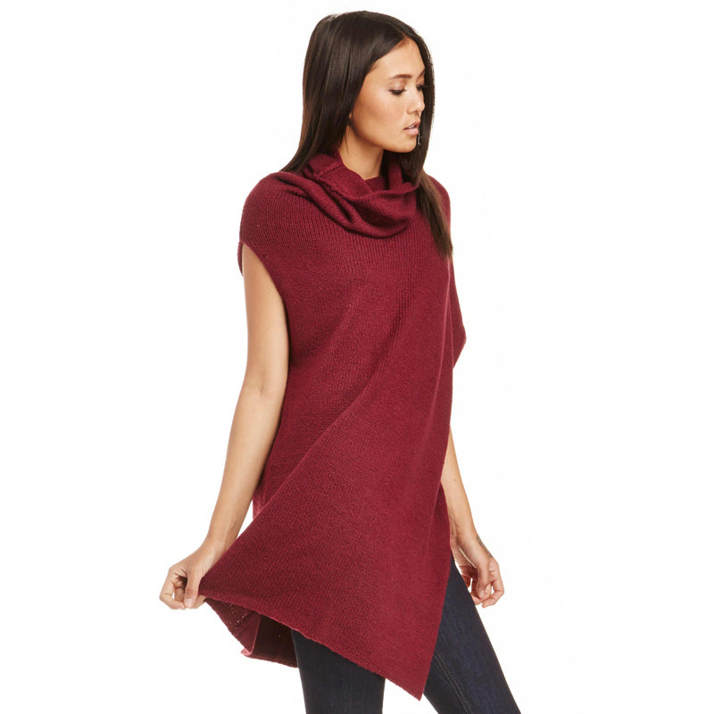 Solid Color Asymmetric Women Long Sweaters LAVELIQ - Laveliqus