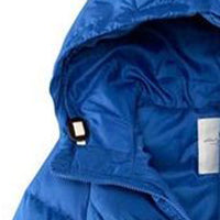 Solid Hooded Zipper Eiderdown Coat Down Jacket Laveliq - Laveliqus