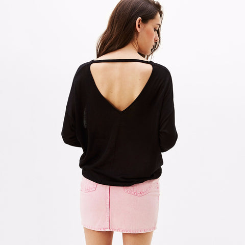 Long Sleeve Casual Loose Knitted Tops LAVELIQ