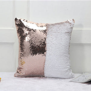 Reversible Mermaid Sequin Pillow Cover LAVELIQ - Laveliqus