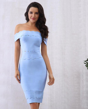 Chic Elegant Women Bandage Dress LAVELIQ - Laveliqus
