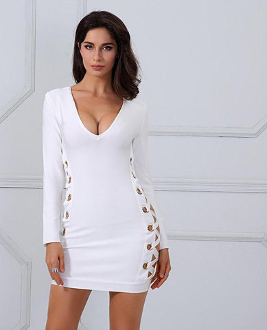 Chic Spring Bandage Dress LAVELIQ