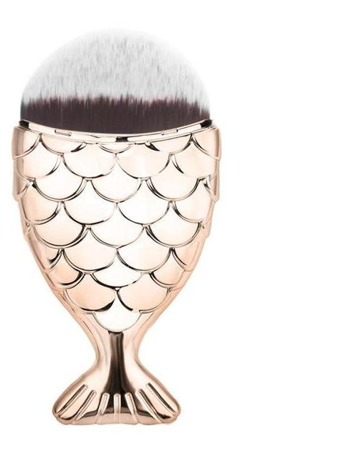 Makeup powder brush fishtail  LAVELIQ - Laveliqus
