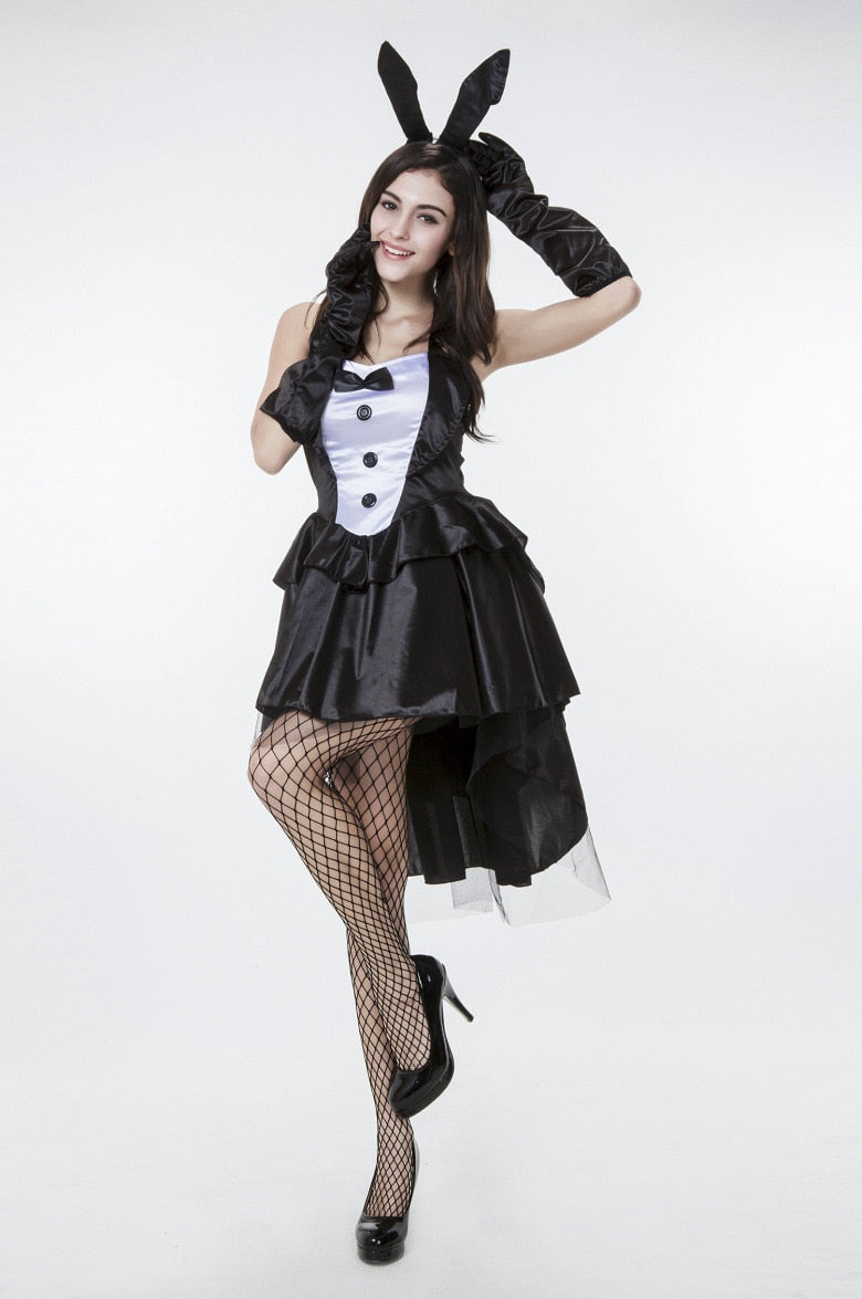 Carnival Costumes for Women Adults Clubwear Cosplay Bunny Girl Rabbit Costumes Cosplay Sexy Halloween Costumes for Women