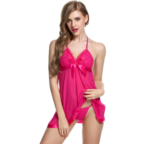 Sexy Women Lingerie Nightdress