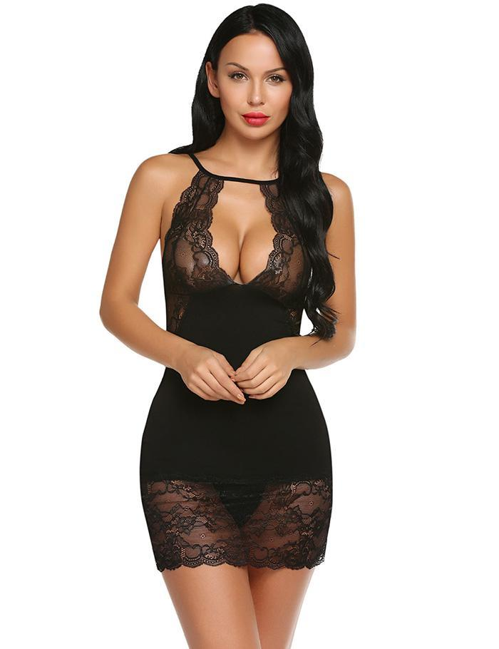 Sexy Hot Nightwear Women's Pajamas  Lingerie - Laveliqus
