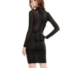 Changeable Harness Straps Party Dress Black Laveliq - Laveliqus