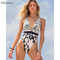 New Sexy One Piece Swimsuit Women Swimwear Push Up Monokini Bodysuit Bandage Swimsuit Female Bathing Suit Beach Wear