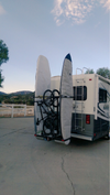"OKR2B56 RV Fifth Wheel / Motorhome / Van rack Fits  Watercrafts / Paddle Boards up to 36"" wide. (Optional Bike rack can be added)"