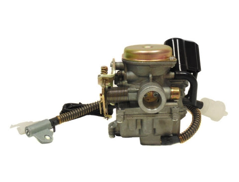 MYK Adjustable CARBURETOR for 50/80cc GY6/QMB engines ( Scooter Parts )