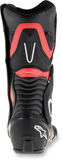 Alpinestars Men's BOOT SMX-6 DS V2 BK/RD