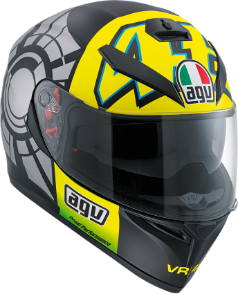 AGV HELMET K3SV WIN TEST12