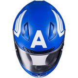 CAPTAIN AMERICA Motorcycle Helmet (Marvel Official)