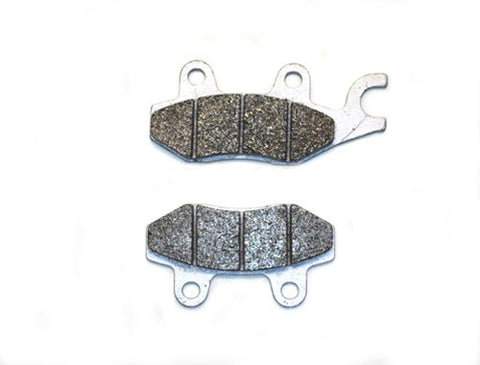 RR Brake Pad Set, Disk Brake System, 150cc GY6 4 Stroke ( Scooter Parts )