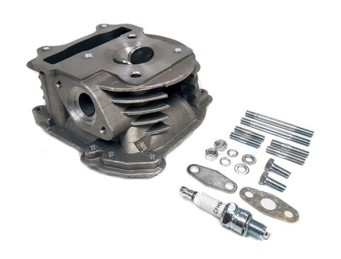 Complete cylinder head for 80cc (47mm) QMB139/GY6 engines ( Scooter Parts )