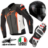 "ULTIMATE RIDING KIT ""MISSILE LEATHER"""