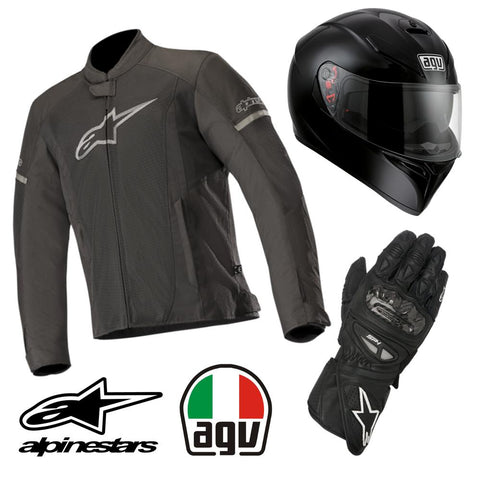 "ULTIMATE RIDING KIT ""STEALTH RIDER"""