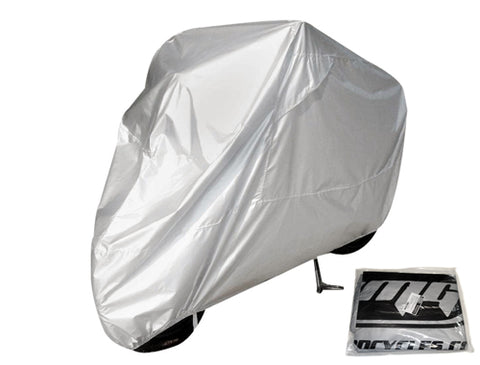 Motorcycle / Scooter Cover - Gray - Size LARGE ( Scooter Parts )