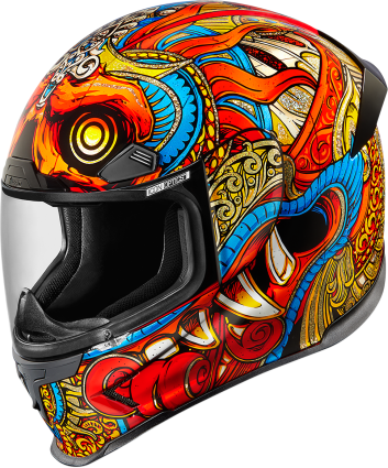 ICON HELMET AFP BARONG RED