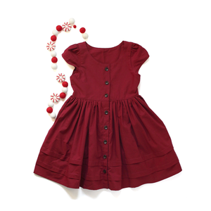 Pre Order- Holly Red Dress