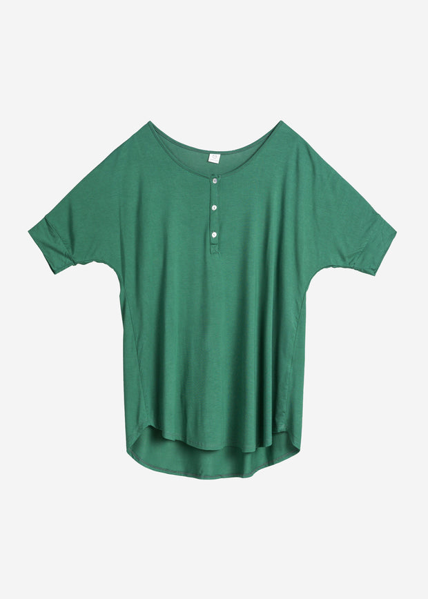Bamboo Basic Mommy Button Shirt