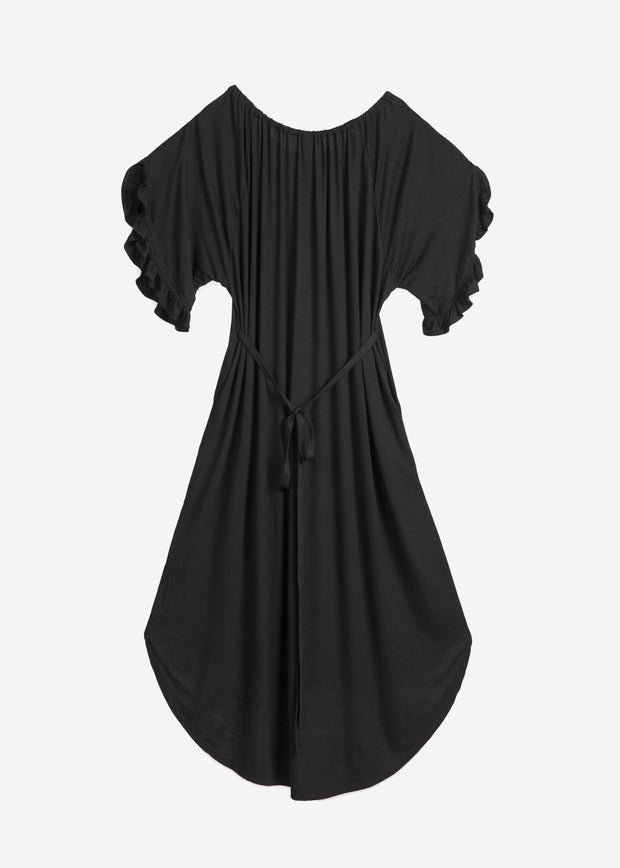 Bamboo Ruffle Sleeve Mommy Dress