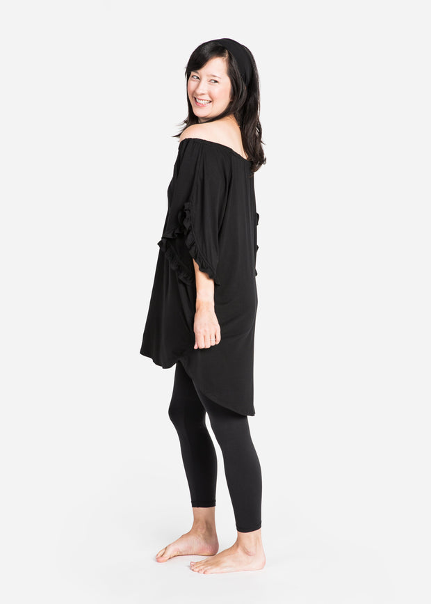 Bamboo Ruffle Sleeve Mommy Shirt