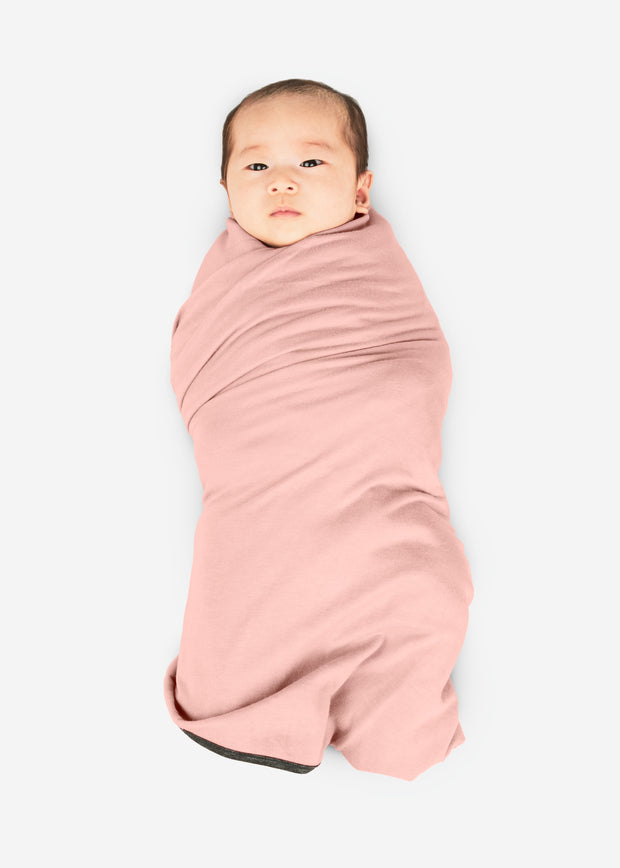 Swaddle Blanket Pink Gray Blue Green White Baby Infant Newborn Bamboo