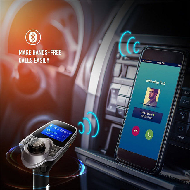 Bluetooth Car MP3 Player with USB Charging Port C0M230202
