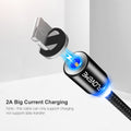Magnetic Cable For iPhone X 7 8 10 Samsung